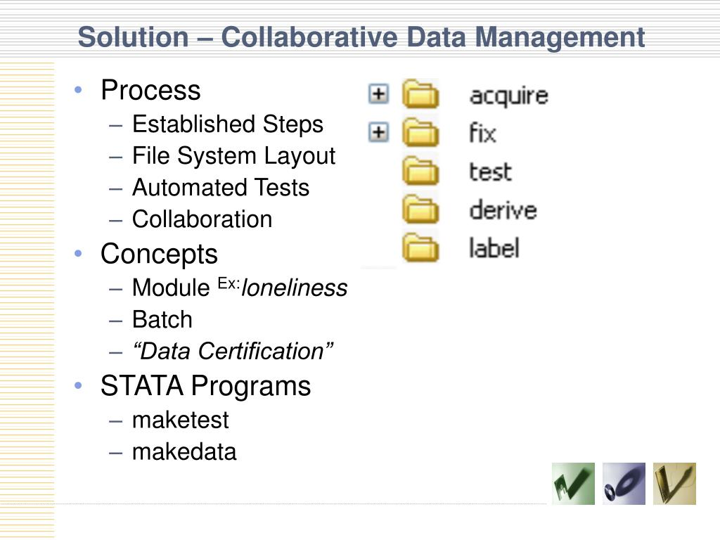 Solution – Collaborative Data Management