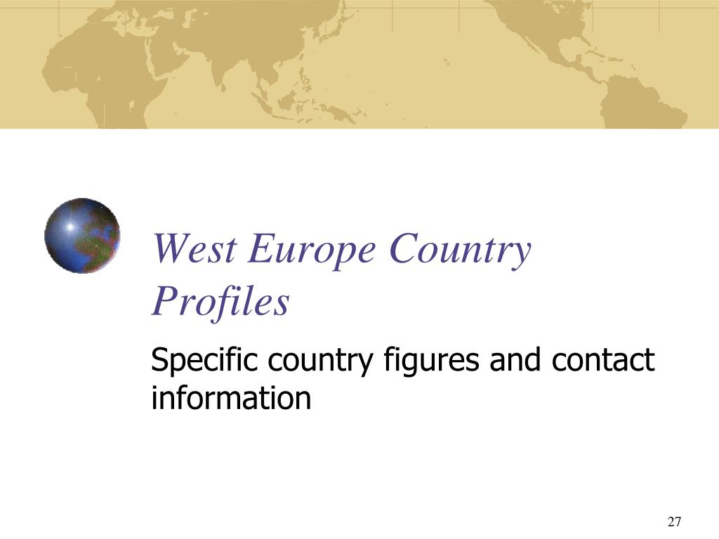 West Europe Country Profiles