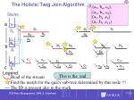 the holistic twig join algorithm72