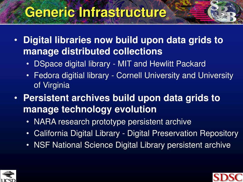 Generic Infrastructure
