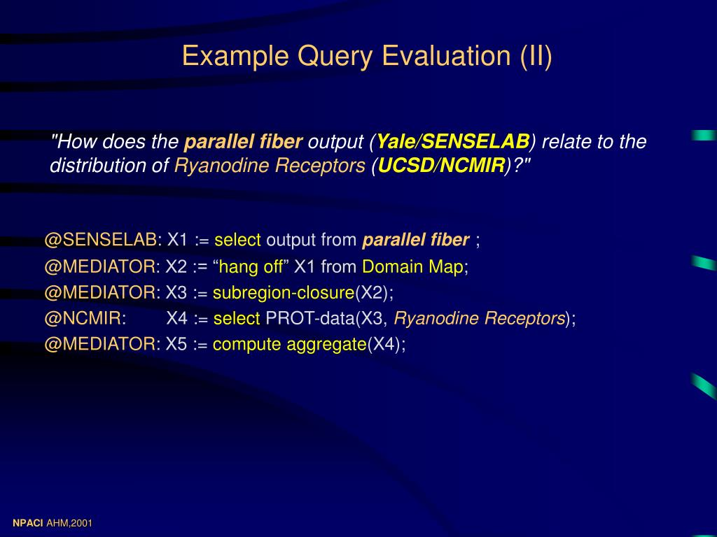 Example Query Evaluation (II)