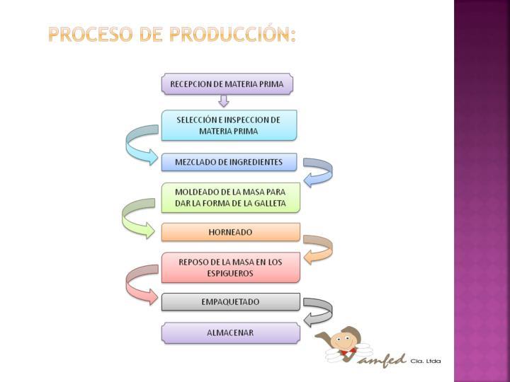 Proceso de producción: