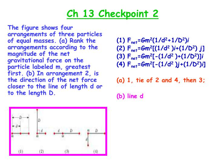 Ch 13 Checkpoint 2