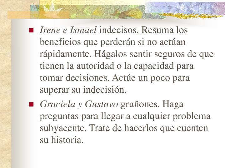 Irene e Ismael