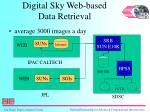 digital sky web based data retrieval