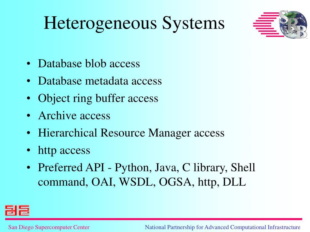 Database blob access