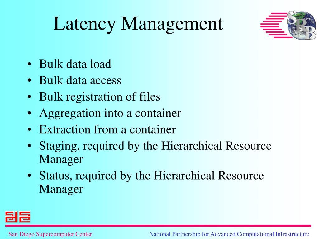 Bulk data load