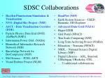 sdsc collaborations