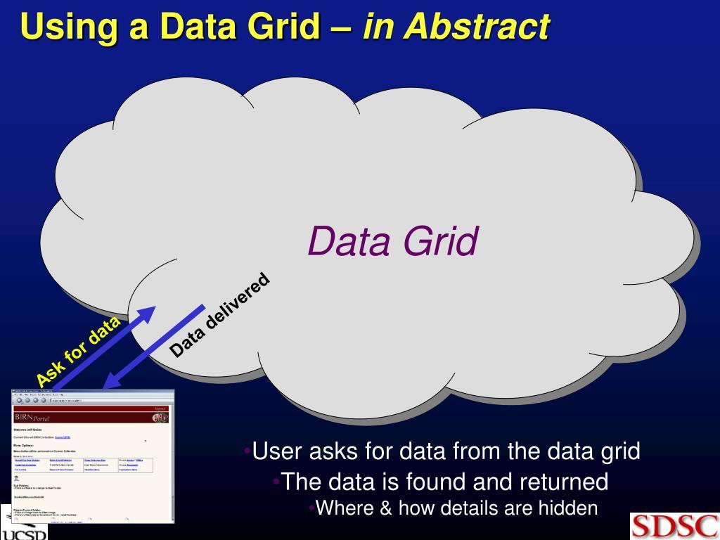 Data delivered