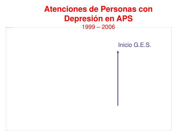 Atenciones de Personas con Depresión en APS
