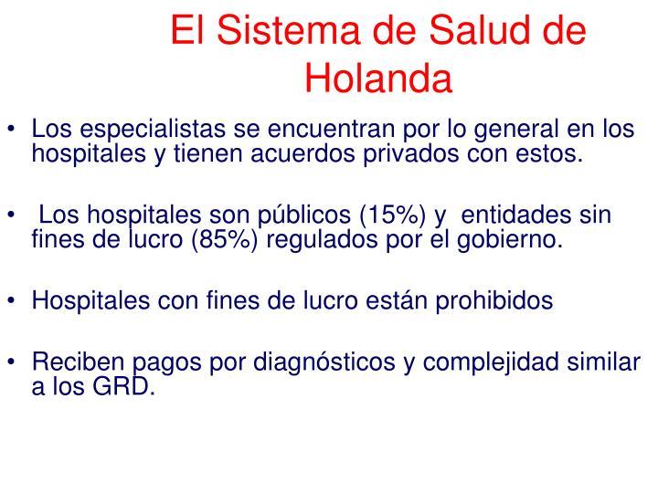 El Sistema de Salud de Holanda