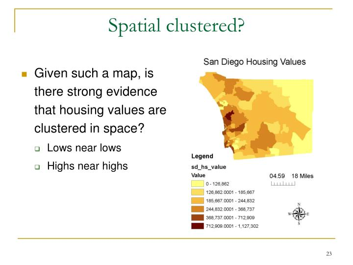 Spatial clustered?