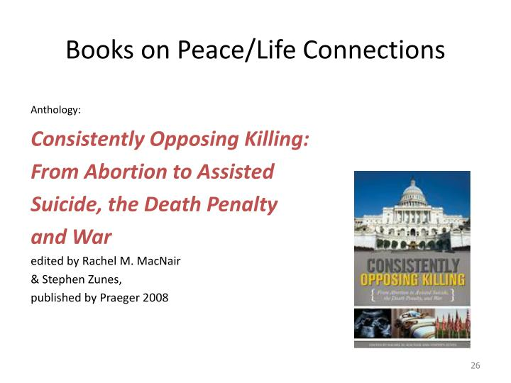 Books on Peace/Life Connections