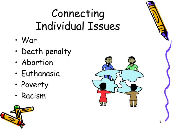 Connecting individual issues