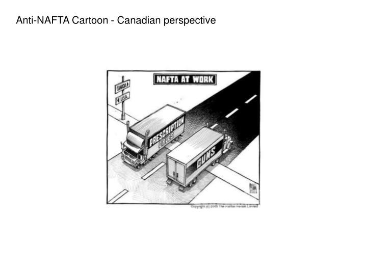 Anti-NAFTA Cartoon - Canadian perspective