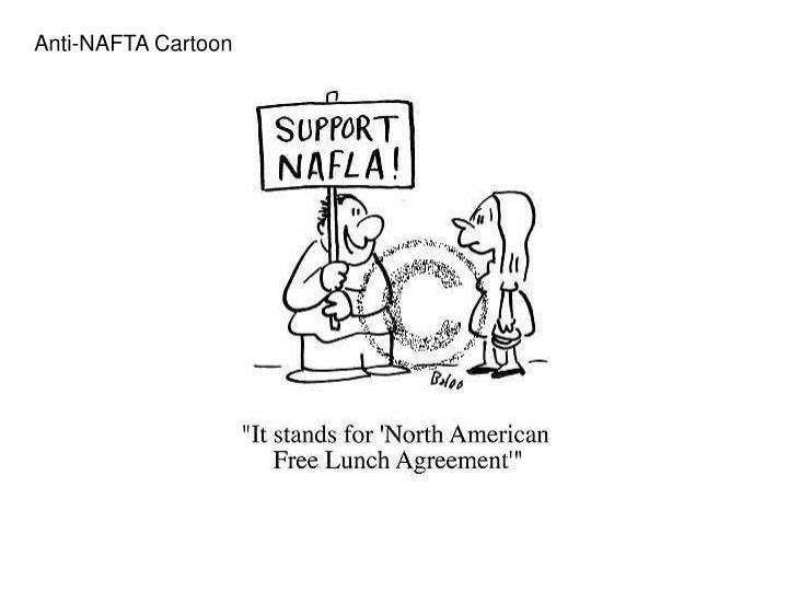 Anti-NAFTA Cartoon