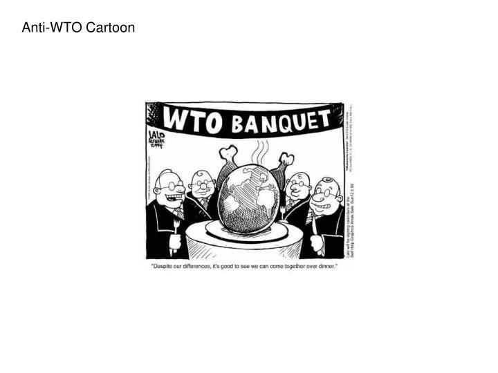Anti-WTO Cartoon