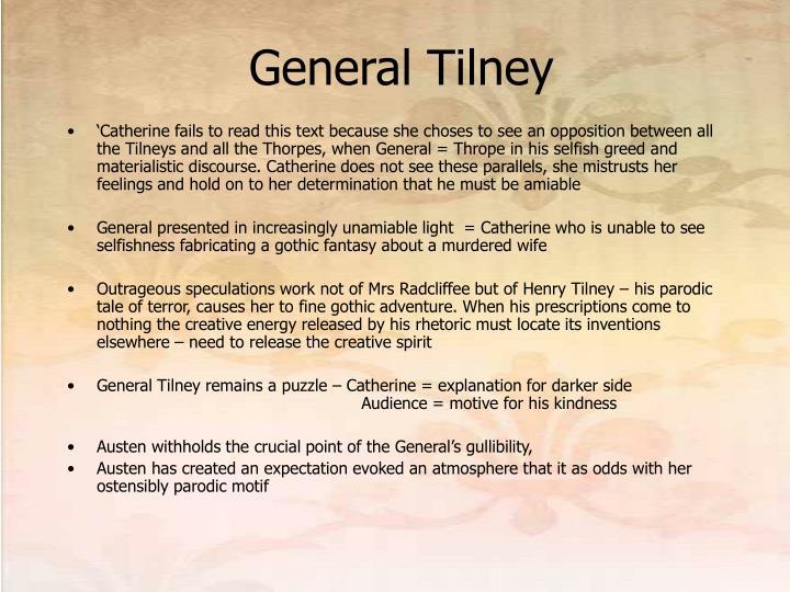 General Tilney