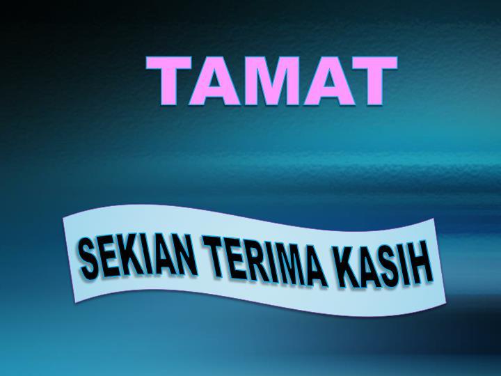 TAMAT
