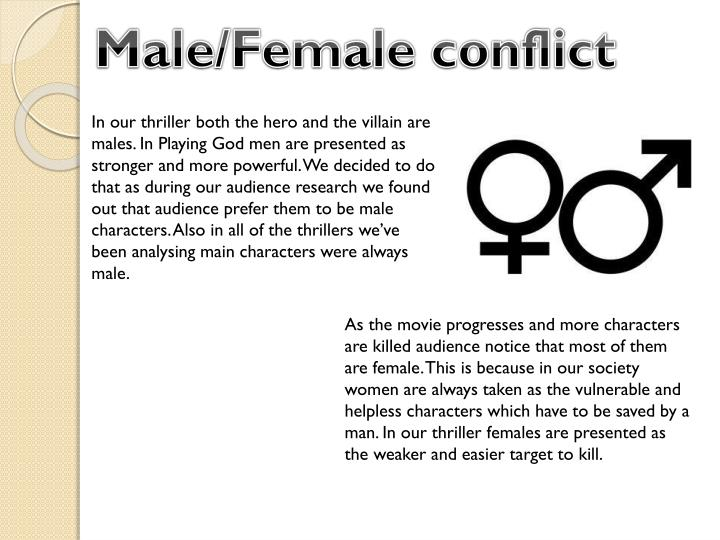 Male/Female conflict