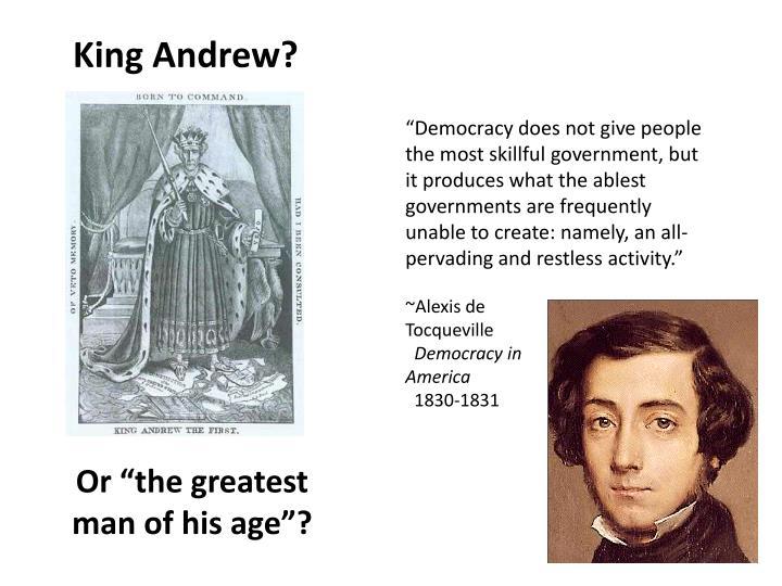 King Andrew?
