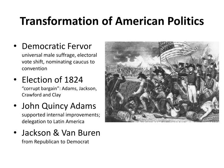 Transformation of american politics