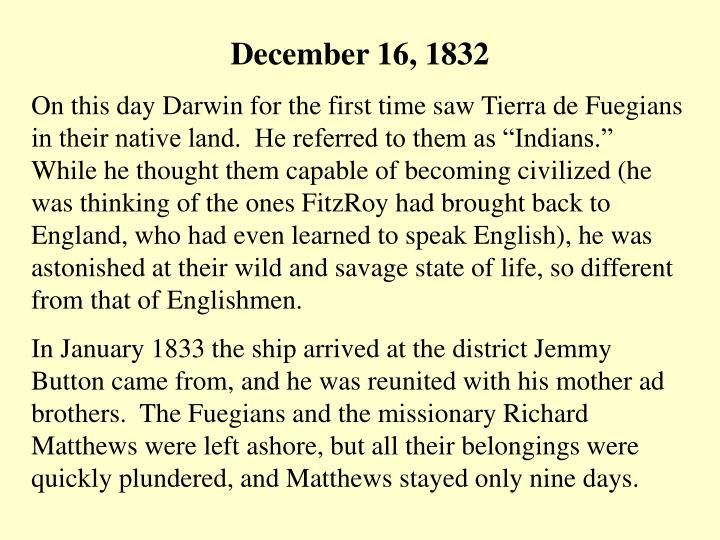 December 16, 1832