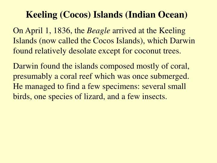 Keeling (Cocos) Islands (Indian Ocean)