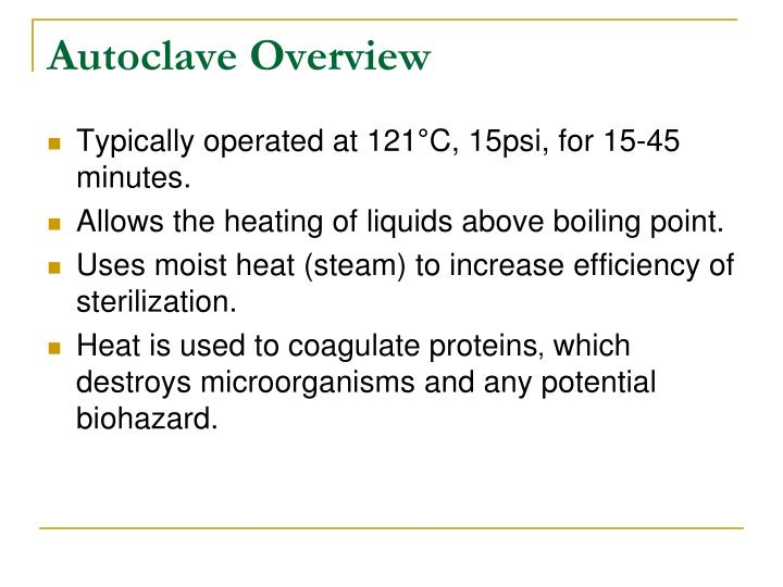 Autoclave Overview