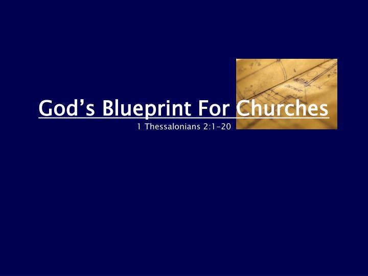 God's Blueprint For Churches