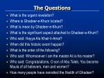 the questions1