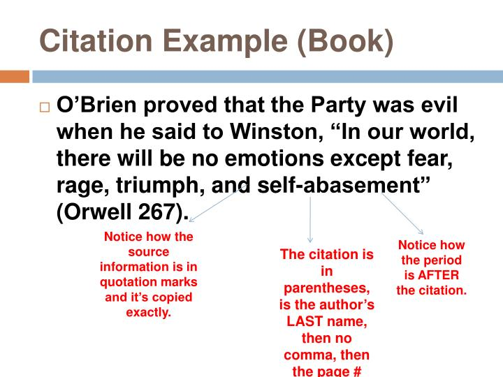 Citation Example (Book)