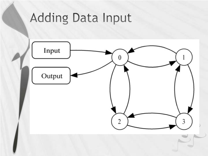 Adding Data Input