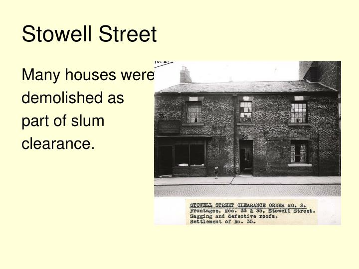 Stowell Street
