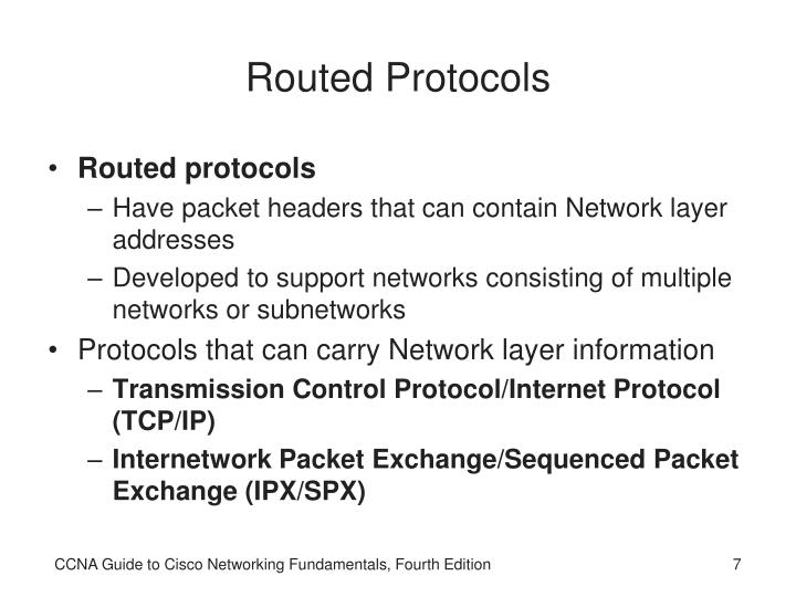 Routed Protocols
