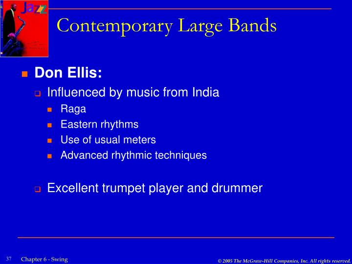 Contemporary Large Bands
