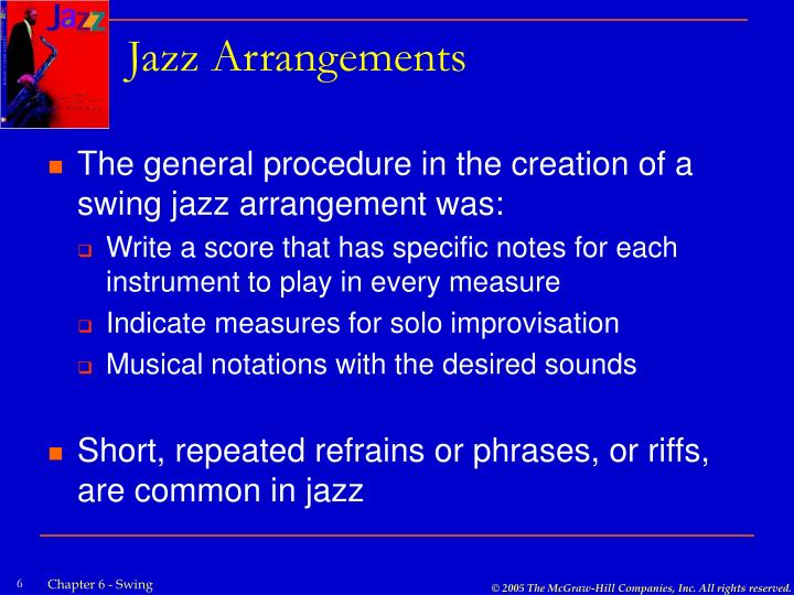 Jazz Arrangements