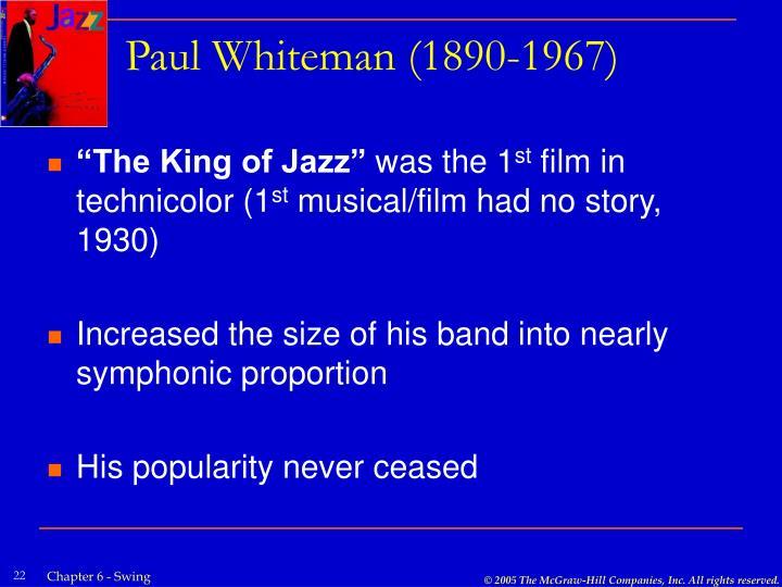 Paul Whiteman (1890-1967)