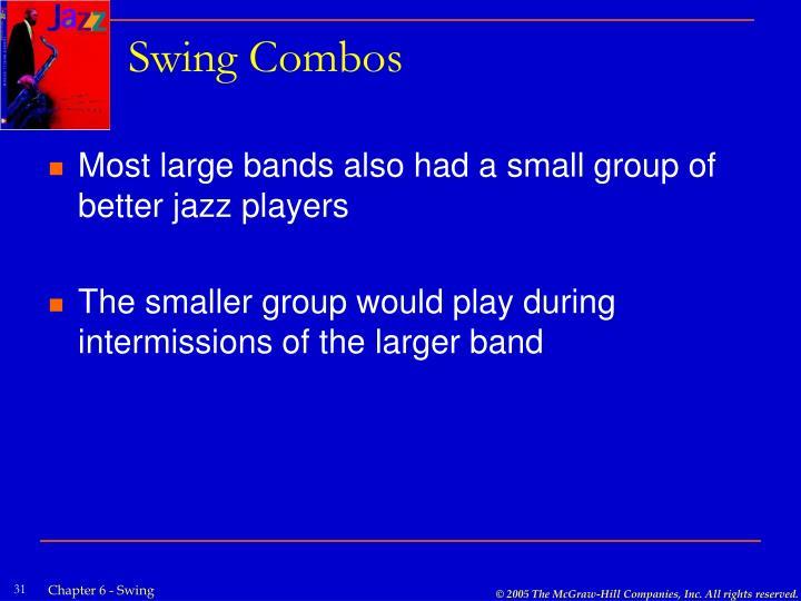 Swing Combos