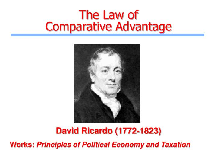 ricardos theory of comparative advantage old idea A definition and explanation of new trade theory  that they outweigh the more traditional theory of comparative advantage  idea of government supporting.