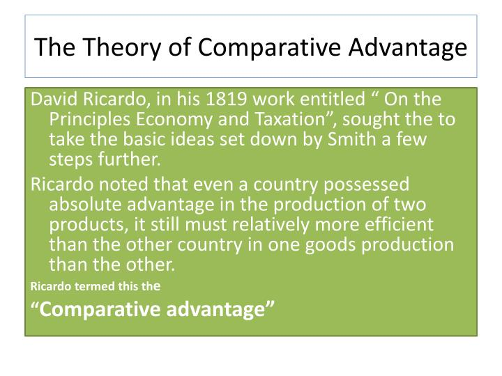 What is Absolute Advantage?