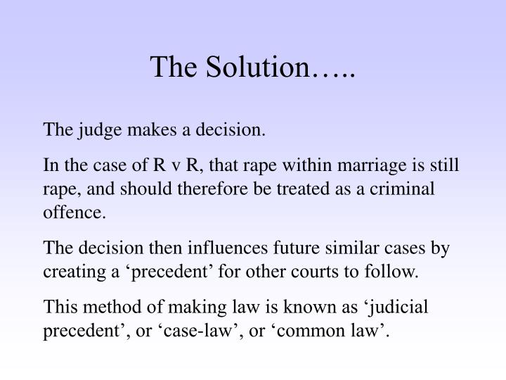 common law cases