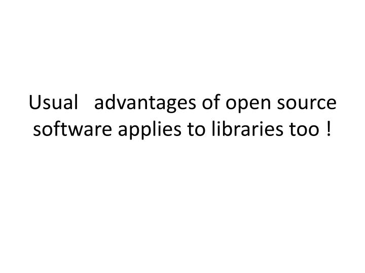 Computer software for business