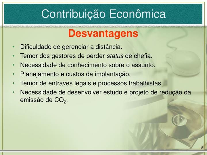 Contribuição Econômica