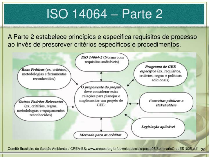 ISO 14064 – Parte 2