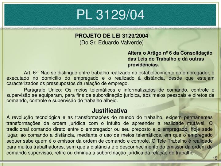 PL 3129/04