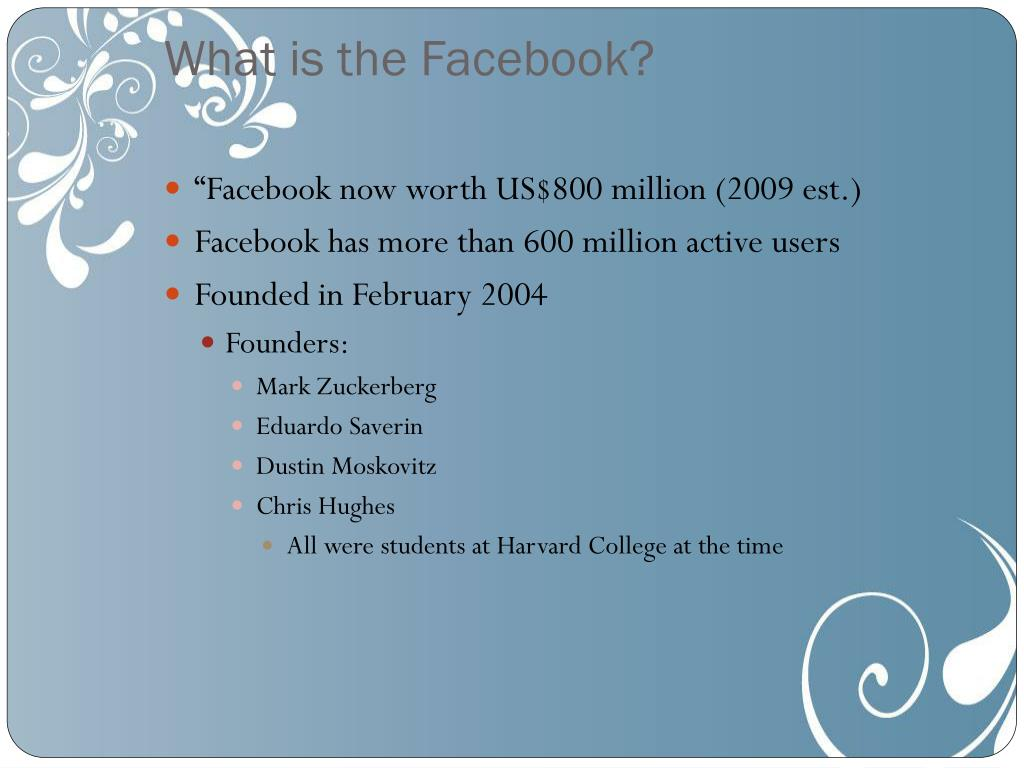 What is the Facebook?