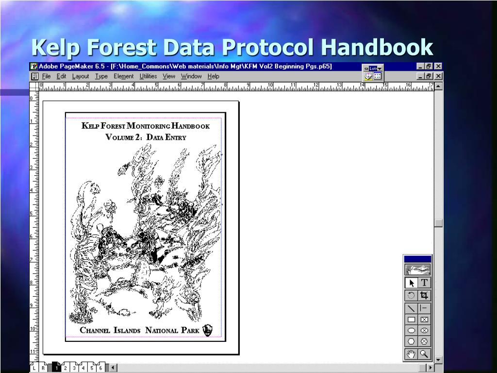 Kelp Forest Data Protocol Handbook