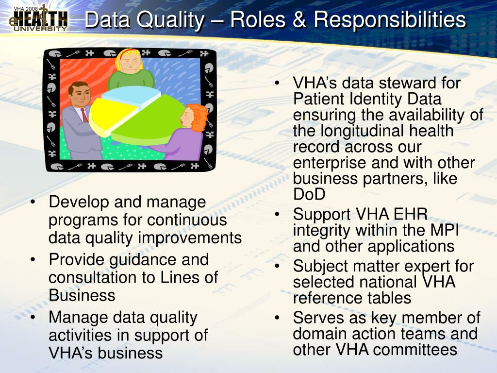 Develop and manage programs for continuous data quality improvements