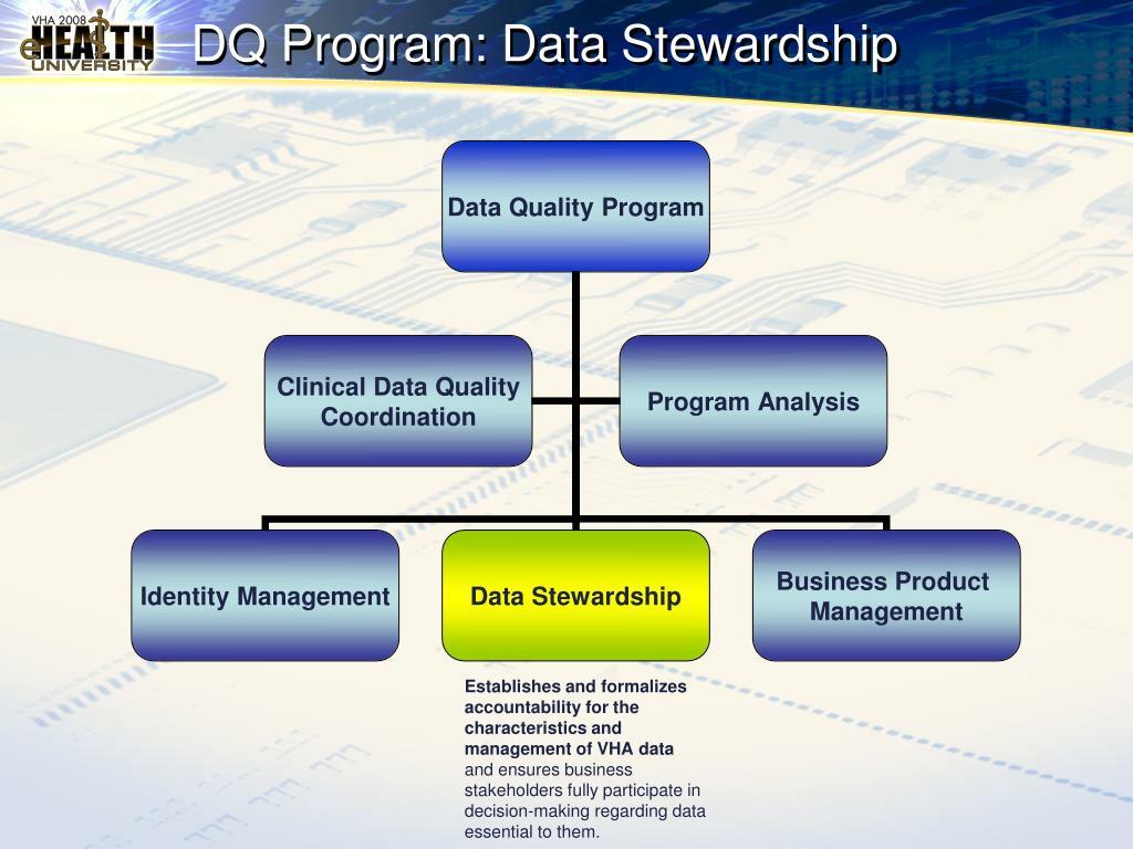 DQ Program: Data Stewardship